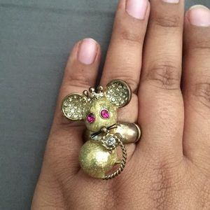 Queen Mouse Ring